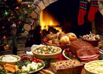 Праздничный стол в новогоднюю ночь 2016