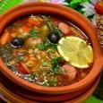 Традиционная солянка это суп с ярко выраженным мясным вкусом.
