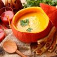 Уменьшив немного количество специй, суп пюре из тыквы отлично впишется в детское меню.