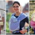 Тканый слинг-шарф — оптимальная переноска для новорожденных и младенцев, хорошо подходит для длительных прогулок.