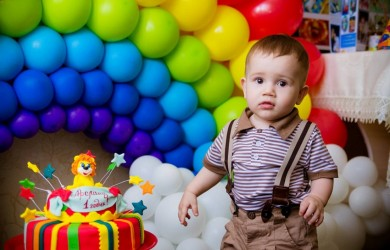 Даже если вашему малышу исполнился всего 1 год, праздник должен быть веселым.